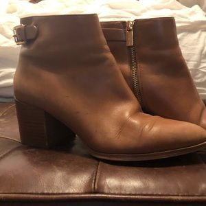Shoes - Michael Michael Kors Brown Leather Booties